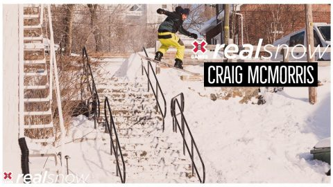 Craig McMorris: REAL SNOW 2020 | World of X Games | X Games