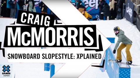 CRAIG MCMORRIS: X Games Xplained - Snowboard Slopestyle | X Games | X Games