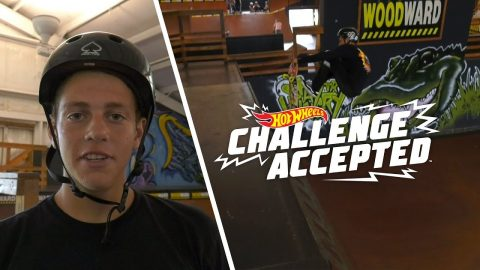 Crail Body Varial On Mini Vert - Hot Wheels Challenge Accepted | Woodward