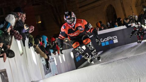 Crashed Ice Marseille: Men's Semifinal #1 | Red Bull Crashed Ice 2017 - Red Bull