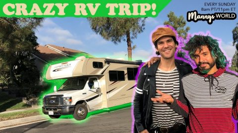 CRAZY RV TRIP!! | MannysWorld