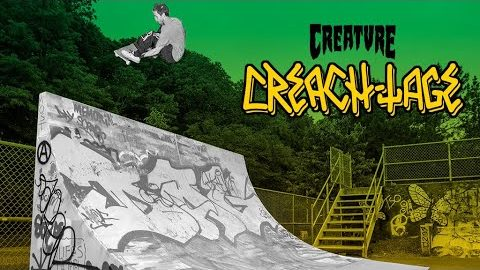 Creach-Tage!! Gravette, Milton, Willis, Gardner, Parts and the Fiends | Creature Skateboards
