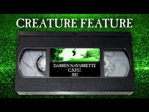 Creature Feature: Navarrette's Part from C.S.F.U. - Creature Skateboards