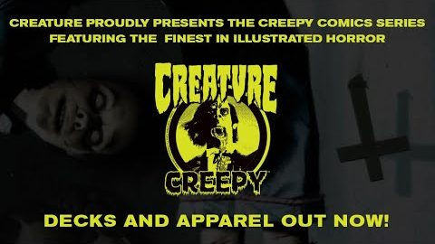 Creature Skateboards - Creepy Comics | Creature Skateboards