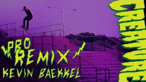 Creature Skateboards: Kevin Bækkel Pro Remix | Creature Skateboards