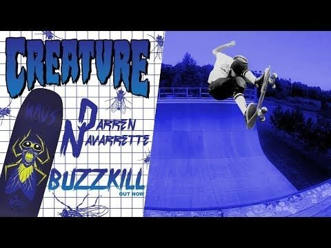 Creature Skateboards: Navarrette Buzzkill Deck OUT NOW! - Creature Skateboards