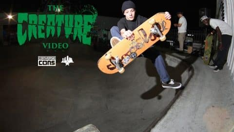 Creature VI Video Premiere / Concrete Jam / Free Fridays - Skatepark of Tampa