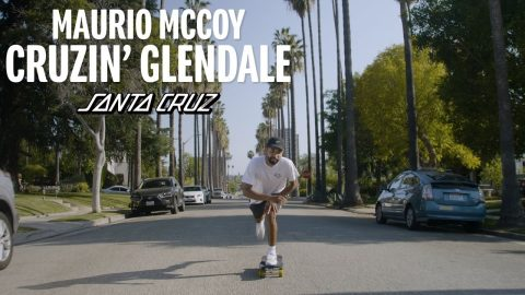 Cruzin' The Road To Recovery w/ Maurio McCoy | Santa Cruz Skateboards | Santa Cruz Skateboards