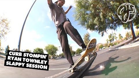 CURB Stompin' - Ryan Townley Slappy Session | OJ Wheels | OJ Wheels