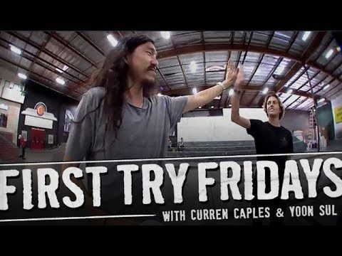 Curren Caples - First Try Friday - The Berrics