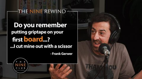 Cutting Griptape With Scissors | THE NINE REWIND - The Nine Club