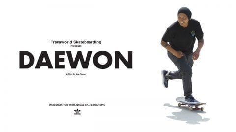 DAEWON | Documentary | Transworld Skateboarding | TransWorld SKATEboarding
