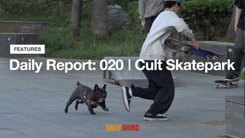 Daily Report: 020 | Cult Skatepark [데일리 그라인드 스케이트보드 매거진] | DAILY GRIND