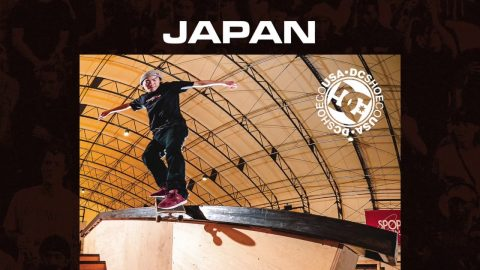 Damn Am Japan presented by DC Shoes 2018 Teaser - Skatepark of Tampa