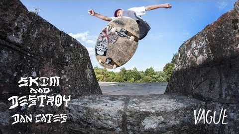 Dan Cates - Skim And Destroy | Vague Skate Mag