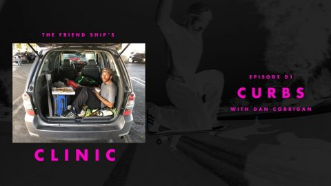 Dan Corrigan - Clinic: Curbs - The Berrics