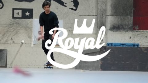 Daniel Espinoza for Royal Trucks - crailtap