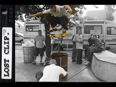 Daniel Lebron Lost Skateboarding Clips #168 - Skateintheday