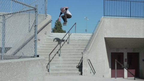 DANIEL YEAGER STREET PART & BOARD SET UP VIDEO !!! - NKA VIDS - Nka Vids Skateboarding