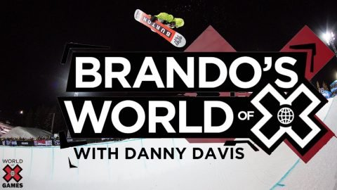 DANNY DAVIS: Brando's World of X | X Games | X Games