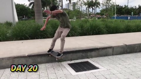 "Danny Fuenzalida: ""A New One A Day"" / Krux Trucks - Krux Trucks"