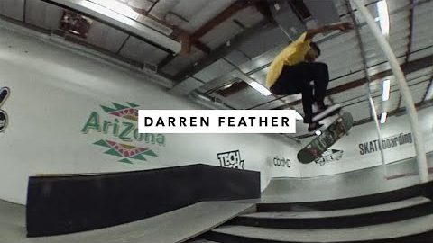 Darren Feather | TWS Park Session | TransWorld SKATEboarding