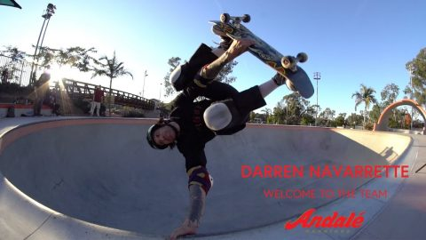 Darren Navarrette - Welcome To Andale | Andale Bearings