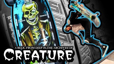 Darren Navarrette's First Graphic Unearthed! Navs 'Relic' OUT NOW! | Creature Skateboards