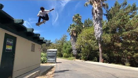 DARRIUS HUTTON SKATING OFF ROOFS AND MUCH MORE !!! - NKA VIDS - | Nka Vids Skateboarding