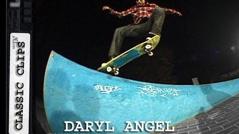 Daryl Angel Skateboarding Classic Clips #271 by Carson Lee | Skateintheday