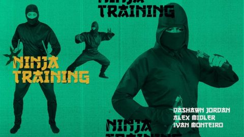 Dashawn Jordan, Alex Midler, & Ivan Monteiro - Ninja Training - The Berrics