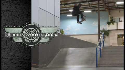 Dashawn Jordan's Gnarly Gap To Frontside Boardslide | Berrics Gnarliest Trick | The Berrics