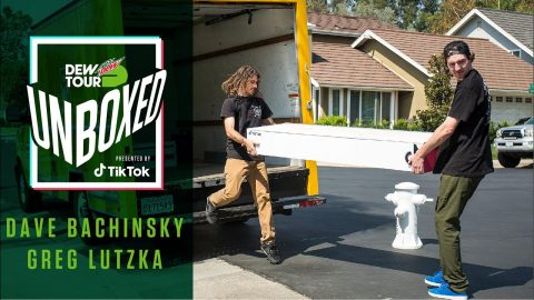Dave Bachinsky & Greg Lutzka's Surprise Delivery | Dew Tour Unboxed Presented by TikTok | Dew Tour