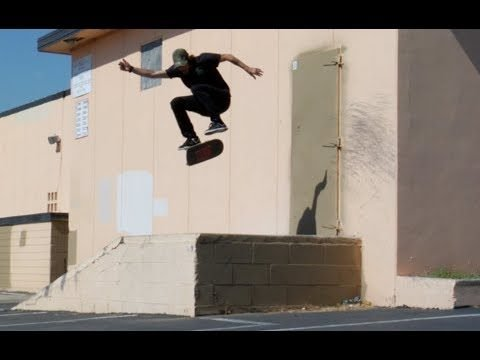 Dave Bachinsky Hardflip Kicker Over Loading Dock Raw Uncut - E. Clavel