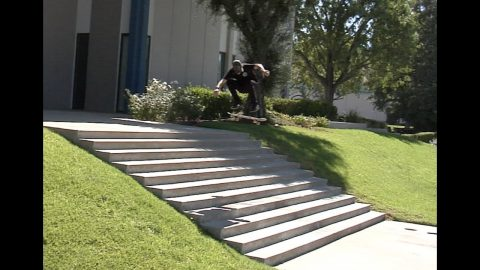 Dave Bachinsky Heelflip Raw Cut | E. Clavel