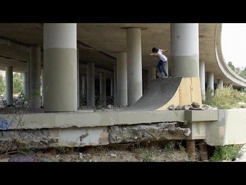 Dave Bachinsky - The DIY Under the Bridge - The Berrics
