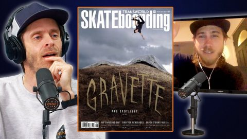 David Gravette Backflips Onto The Cover Of Transworld And A Beer Can! | Nine Club Highlights