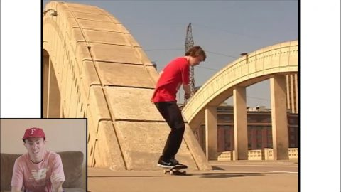 Davis Torgerson rewatches his Boondoggle part... again | REAL Skateboards