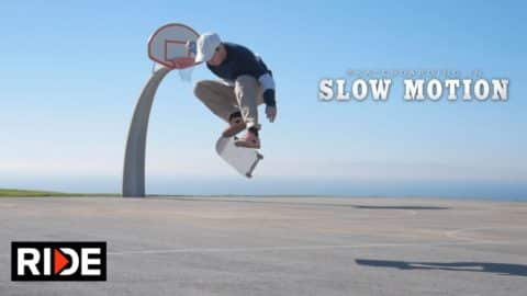 "Davis Torgerson Skateboarding in Slow Motion - ""Straight 8"" - RIDE Channel"