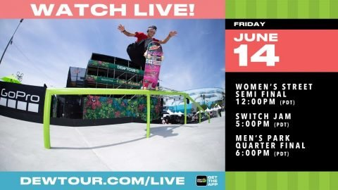 DAY 2: 2019 Dew Tour Long Beach Boost Mobile Switch Jam, Men's Park Quarter Final | Dew Tour