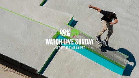 Day 4: Dew Tour Women's Pro Park Final, Love & Guts Jam, Men's Pro Street + Park Finals LIVE | TransWorld SKATEboarding