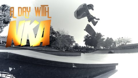 DAY AT STONER WITH VINNIE BANH - A DAY WITH NKA - Nka Vids