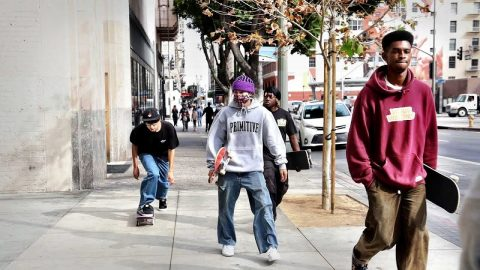 DAY HANGING WITH THE CREW | Luis Mora