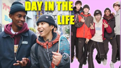 DAY WITH A GROUP OF FRIENDS IN JAPAN | Luis Mora