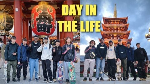 DAY WITH THE TOKYO SKATE CREW   Luis Mora