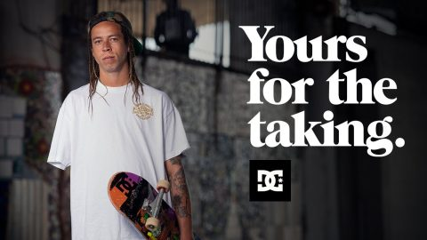 DC SHOES : LEFTY - YOURS FOR THE TAKING | DC Shoes