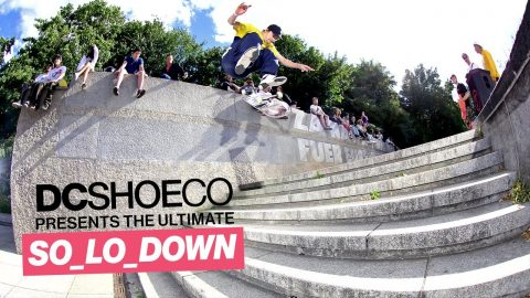 DC Shoes SO_LO_DOWN Berlin co-hosted by TITUS | Wes Kremer, Evan Smith, T-Funk, John Shanahan | Titus