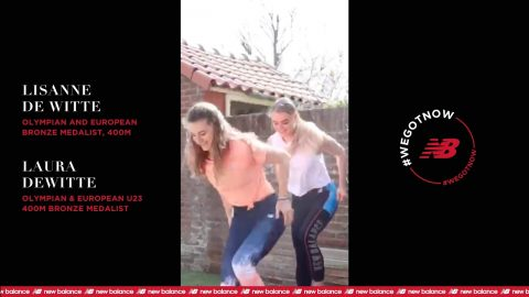 De Witte Sisters | #StayHome & Workout #WithMe | New Balance | newbalance