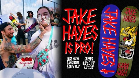 Deathwish Skateboards - Jake Hayes Pro Party - Deathwish Skateboards