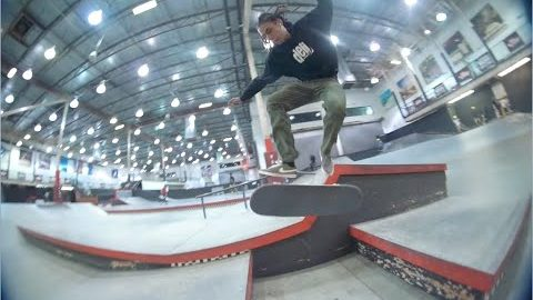 DELI SLICE: Warm Ups - Vans Indoor Skatepark | Fifth Window
